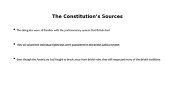 A NEW PLAN OF GOVERNMENT POWERPOINT