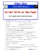 A NOVA - Great Math Mystery - Worksheet, Ans. Sheet, and T
