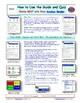 A NOVA - Great Math Mystery - iPad Interactive Worksheet, Ans. and Quiz.