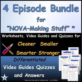 "Differentiated 4 Episode Bundle for "" NOVA - Making Stuff ""*"
