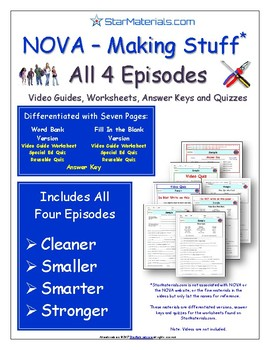 A NOVA - Making Stuff - iPad Interactive 4 Episodes