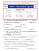 A NOVA - The Nuclear Option -  iPad Worksheet, Answer Sheet, and Two Quizzes.