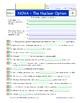 A NOVA - The Nuclear Option -  iPad Worksheet, Answer Shee
