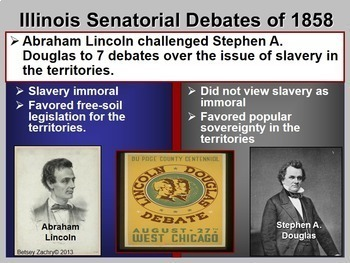 Causes of the American Civil War 1820-1860 PowerPoint & Lecture Notes