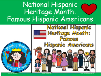 A+ National Hispanic Heritage Month: Famous Hispanic Americans