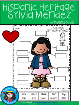 A+ National Hispanic Heritage Month: Sylvia Mendez Labels