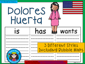 A+ National Hispanic Month: Dolores Huerta ... Three Graph