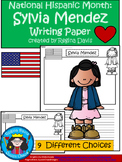 A+ National Hispanic Month: Sylvia Mendez Writing Paper