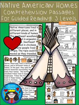 A+ Native American Comprehension:Differentiated Instruction For Guided Reading