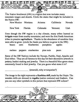A Native American Thanksgiving Unit Lesson Plan Printable