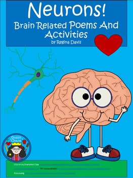 A+ Neurons: Brain Related Poems, Doubles Practice, Making Words & Writing Sheets