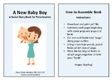 A New Baby Boy - A Social Story for Preschoolers
