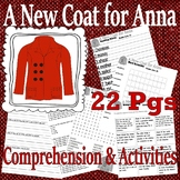 A New Coat for Anna : Christmas Comprehension Book Companion Activity Packet