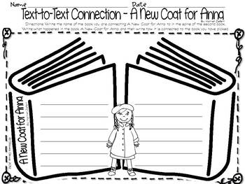 A new coat for anna coloring pages ~ Reading Skills & Strategies inspired by A New Coat for ...