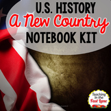 A New Country Notebook Kit {U.S. History}