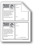 A New Home (Grade 2 Daily Word Problems-Week 32)
