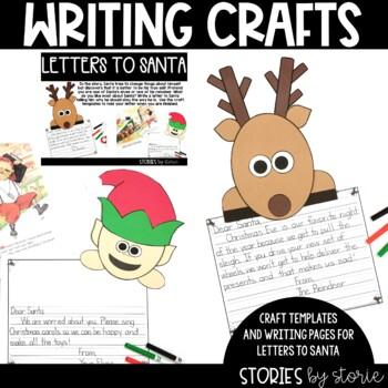 A New Improved Santa (Book Questions, Vocabulary, Reindeer Craft & Elf Craft)