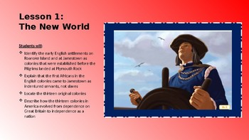 A New Nation: American-Engage NY Read Alouds- Common Core- 1st Grade- Domain 10