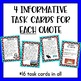 A New Nation and Constitution - Task Cards & Literacy Strategies