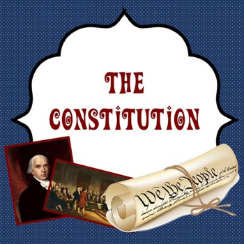The Constitution: Guided power point lesson about creating the constitution