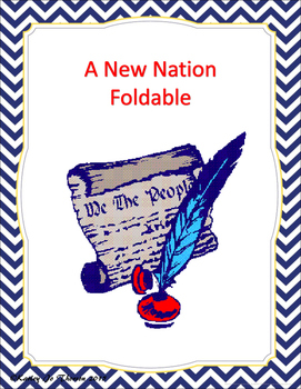 A New Nation Foldable