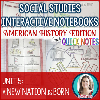 A New Nation Interactive Notebook