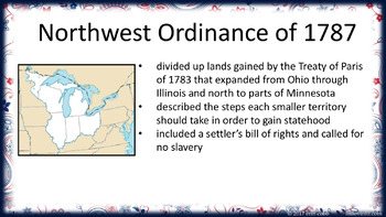 A New Nation Lesson PowerPoints