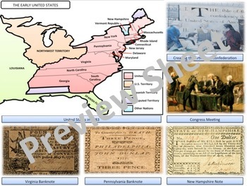 The Articles of Confederation - Homework