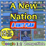 New Nation Unit: 16 lessons for Washington, Adams, Jefferson, Madison, & Monroe!