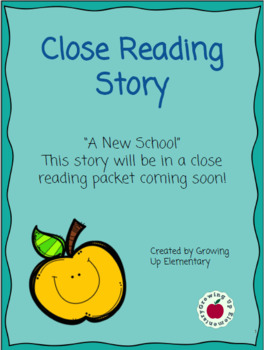 A New School: Close Read Standards Aligned and Standards Based Grading