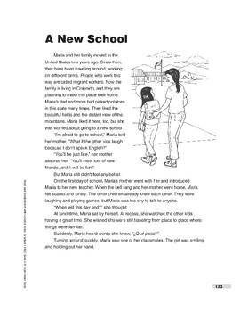 A New School (Lexile 690)