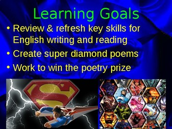 a new superhero powerpoint lesson overview by stephen duff tpt