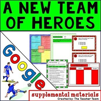 A New Team of Heroes Journeys 3rd Grade Unit 6 Lesson 29 Google Drive Resource