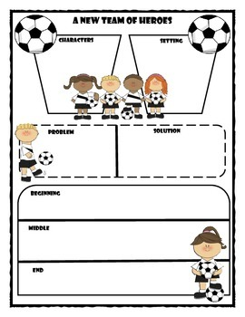 A New Team of Heroes Story Map Graphic Organizer