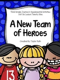 A New Team of Heroes Journey's Supplemental Activities - Third Grade Lesson 29