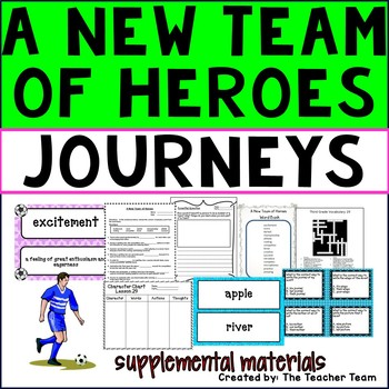 A New Team of Heroes Journeys Third Grade Unit 6 Lesson 29 Activities