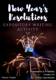 A New Twist on New Year Resolution Writing