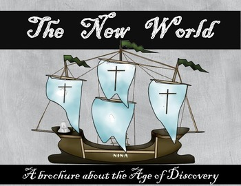 A New World: The Age of Discovery Brochure