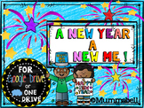 A New Year A New Me! - Digital New Year writing activities