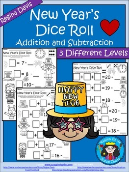 A+ New Year's Dice Roll: Balancing Out Equations