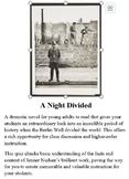 A Night Divided - Quiz on Novel