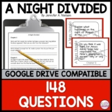 A Night Divided ~ question/discussion cards