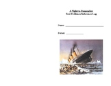A Night to Remember Text Evidence/Inference Log