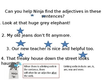 A Ninja's Guide to Grammar: Part 2 -Adjectives and Adverbs