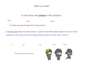 A Ninja's Guide to Grammar, Part 1 : Nouns and Verbs