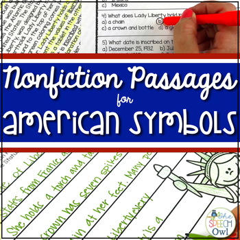 U.S. Landmarks - Non-fiction for Language, Comprehension, and Vocabulary