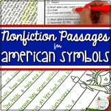 Nonfiction Passages for American Symbols: Comprehension, Vocabulary, and More!