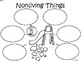 A+ Nonliving Things...Three Graphic Organizers