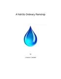 A Not So Ordinary Raindrop