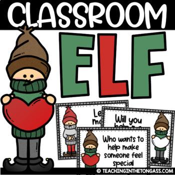 Classroom Elf Notes Free EDITABLE